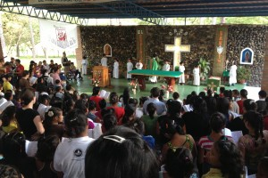 Mass with the children. - OSI Pysical Therapy