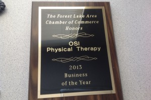 Forest Lake Business of the Year Award