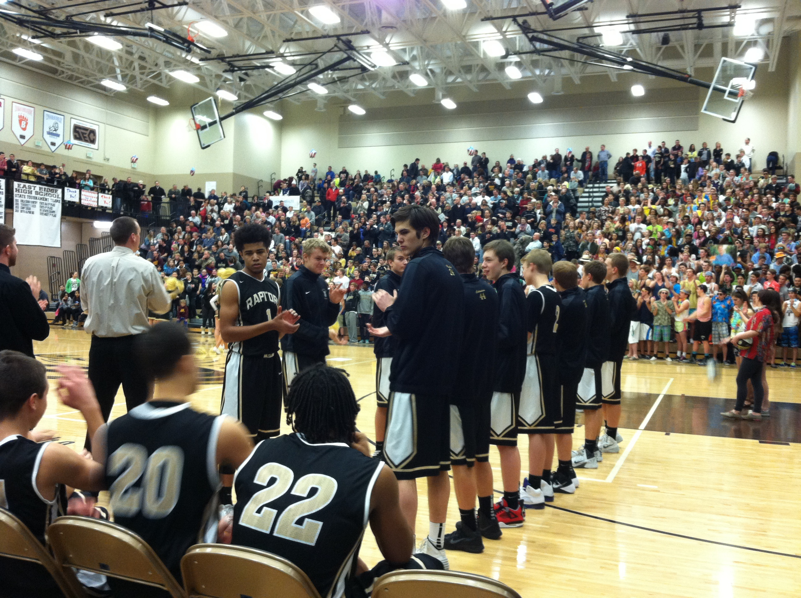East Ridge high school basketball game - OSI Physical Therapy