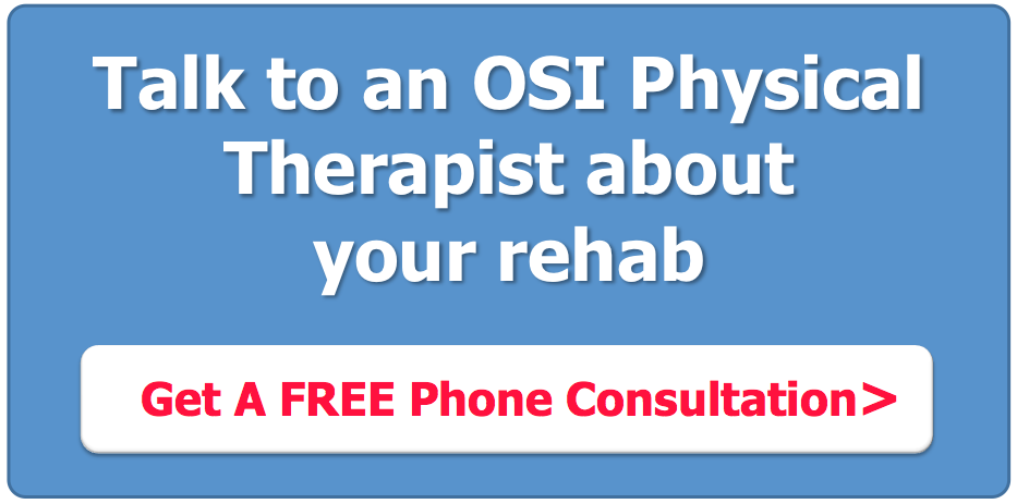 Talk to an OSI Physical Therapist about rehab - Chronic Pain