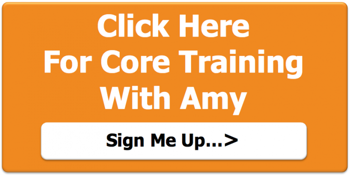 Core training with Amy