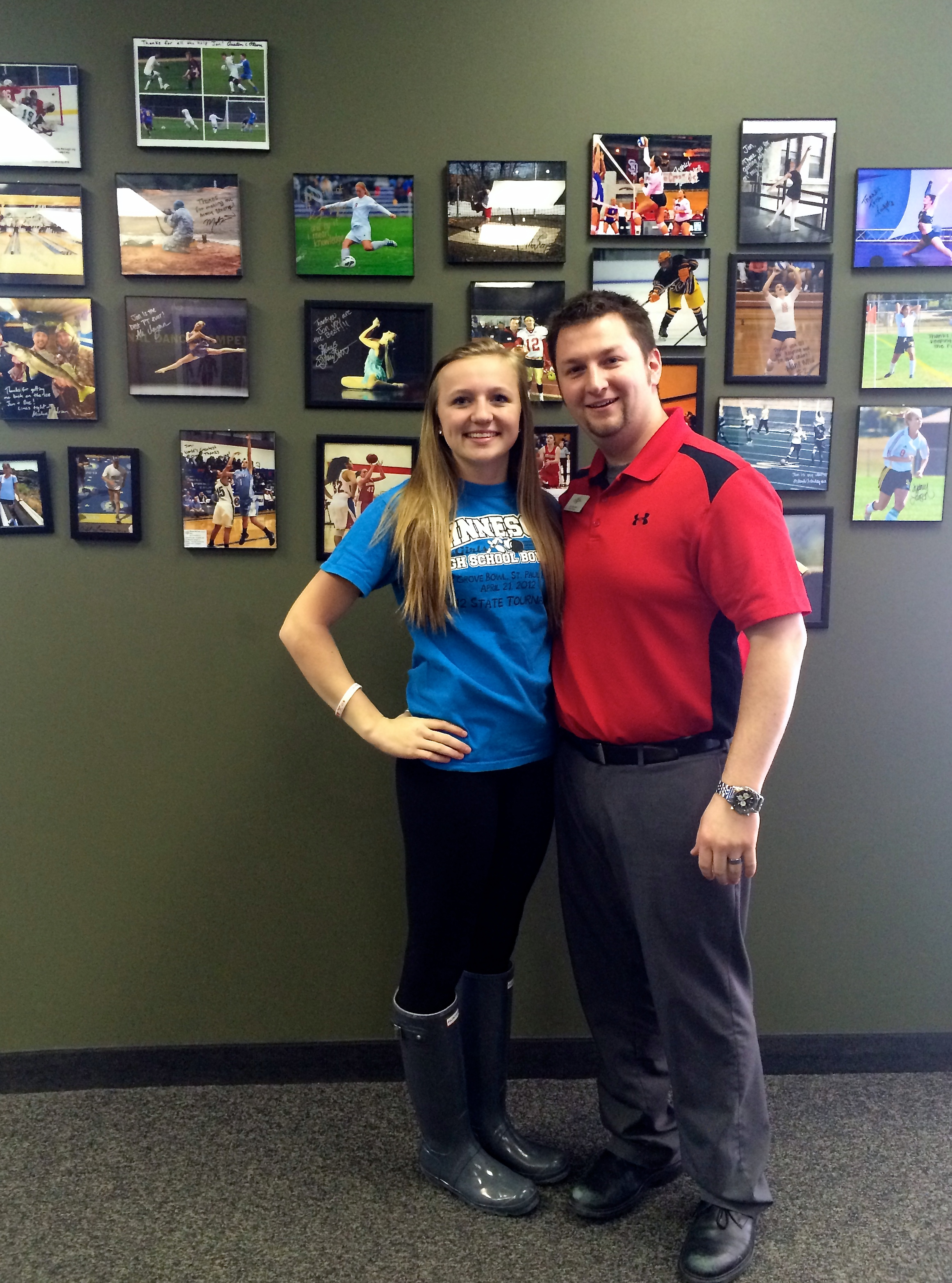 Emily and Jon - OSI Making of a Champion Series Featuring Emily Janisch