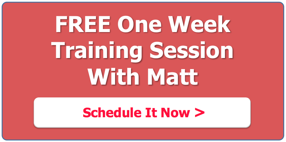 Sports Performance TrainingFree one week training session with Matt