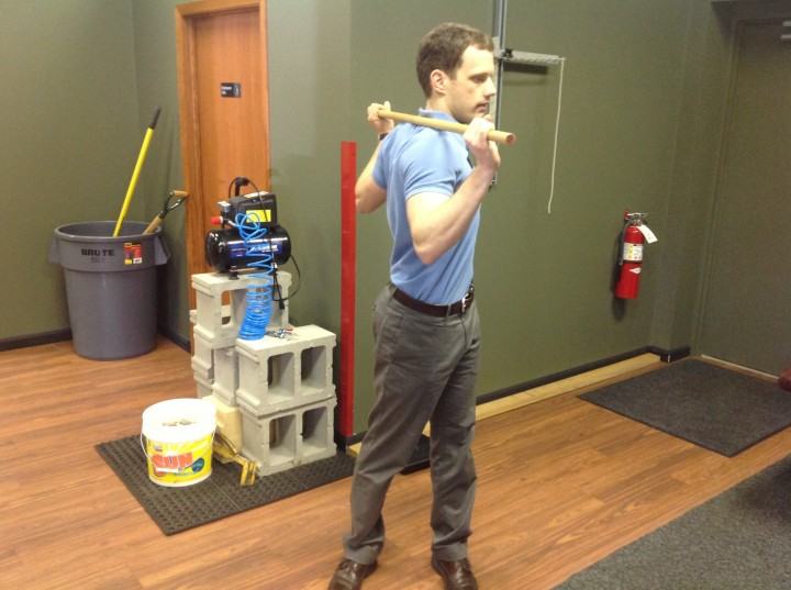 Rotating trunk of body golf warm up tips 2