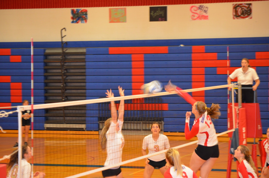 Making of A Champion - Abby Kain playing volleyball