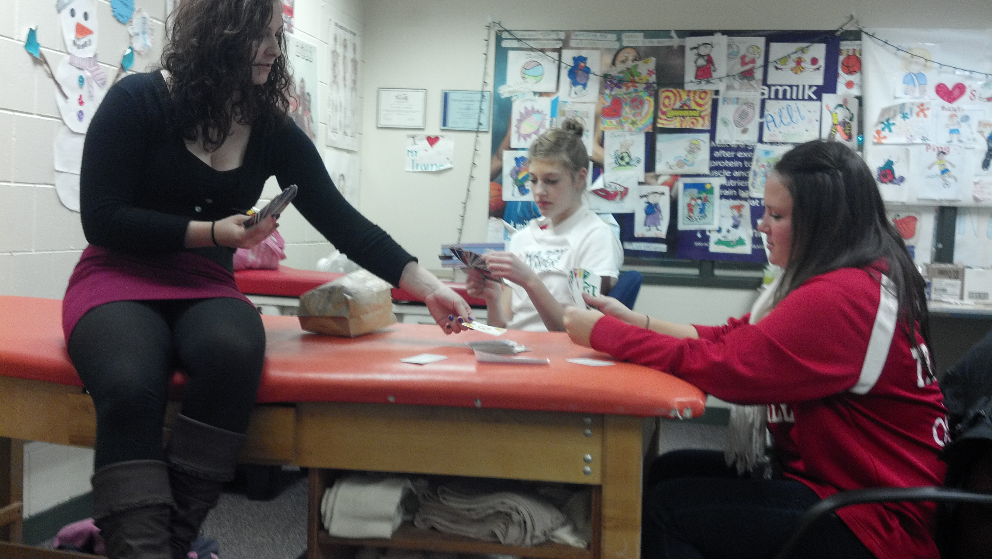 Playing Cards - Athletic Training, tricks of the trade at OSI Physical Therapy
