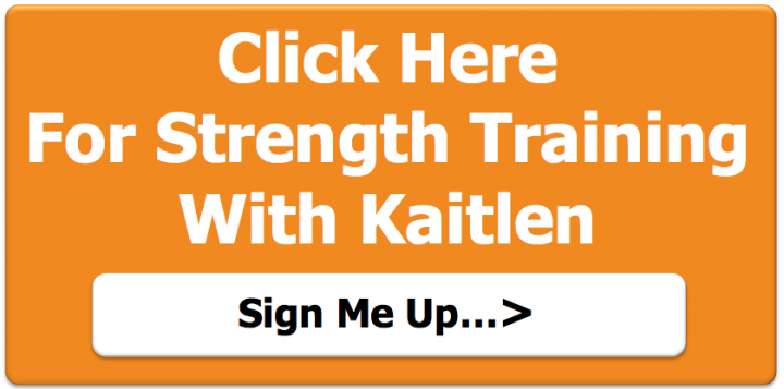 The Importance of Flexibility - Strength training with Kaitlen