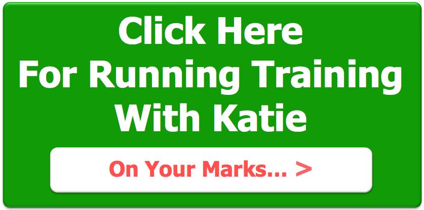 running training with Katie