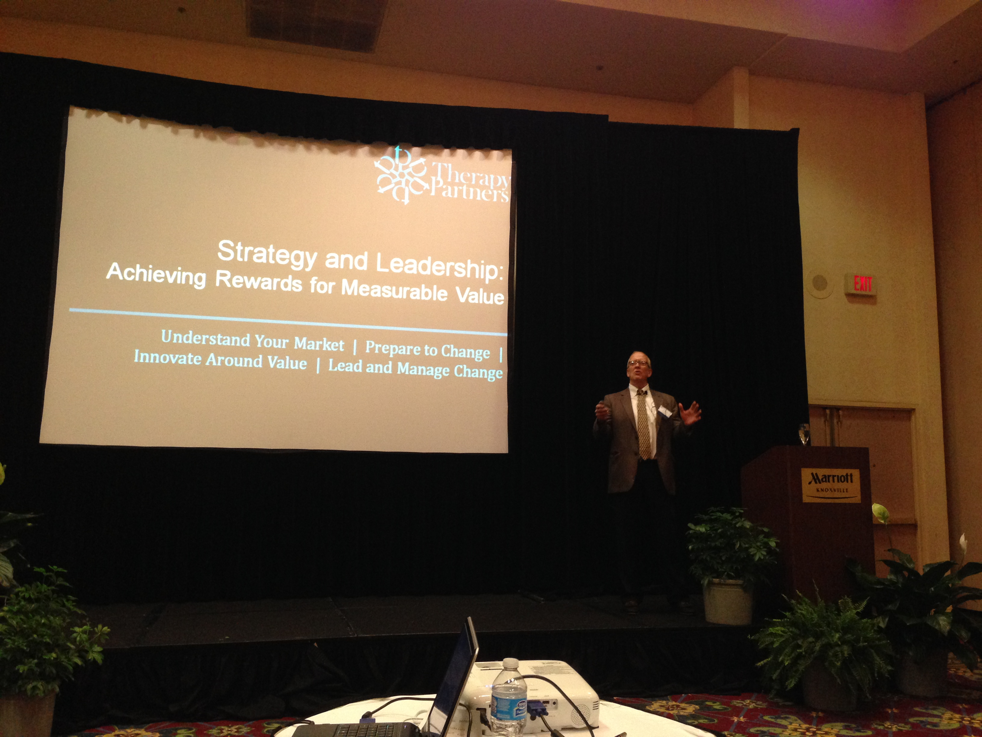 FOTO Outcomes Conference in Knoxville - Jim Hoyme speaking