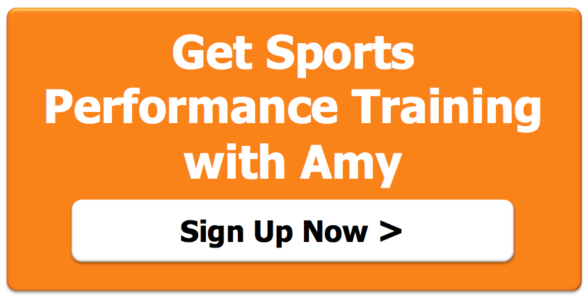 sports training with Amy