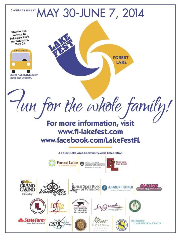 2014 Lake Fest POSTER