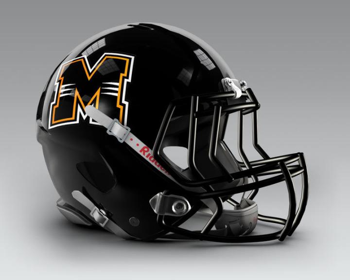 Milwaukee_Panthers_Football_Helmet