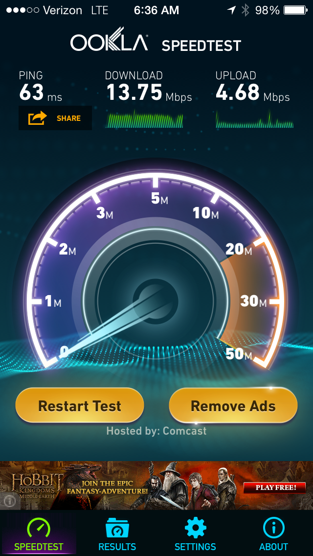 Speedtest App - OSI Physical Therapy 3