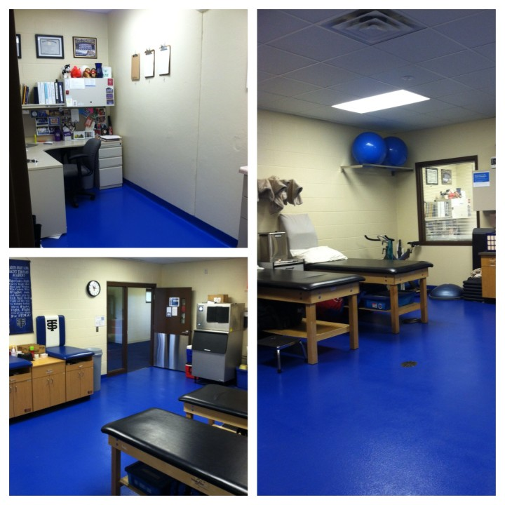 The Athletic Training Room ATRs - Alli age