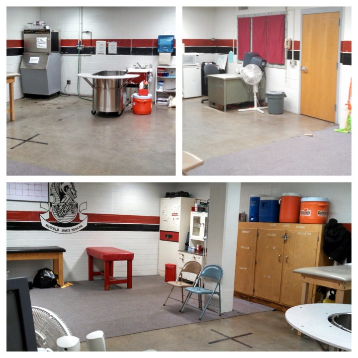 The Richfield Athletic Training Room ATRs - Alli [1]