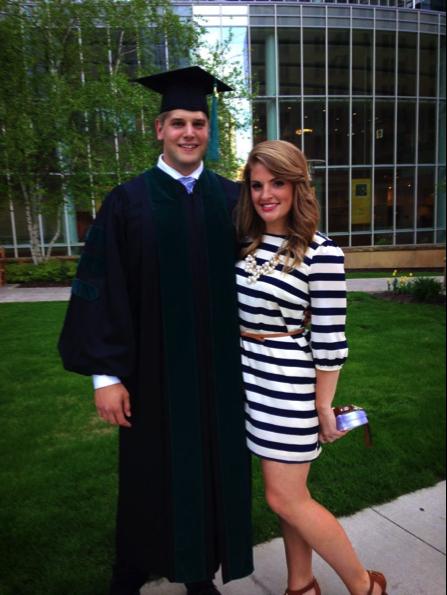 Greg Bailen graduation