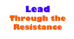 Lead through resistance