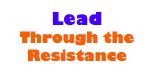 Lead through resistance
