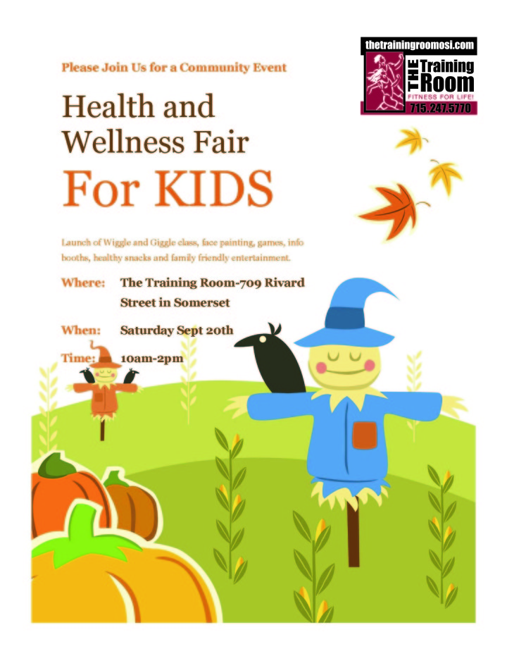 Health and Wellness for Kids - The Training Room