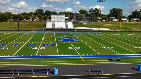 Football field - Tartan High School