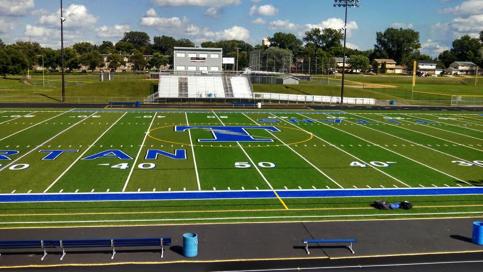 Football field - Tartan High School