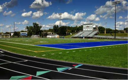New track - Tartan High School