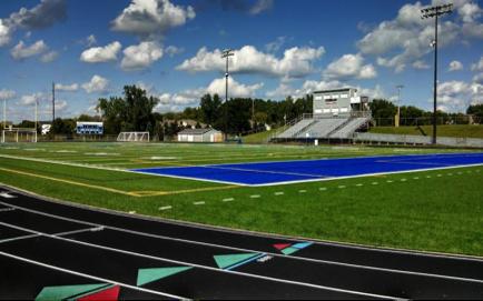 New track - Tartan High School