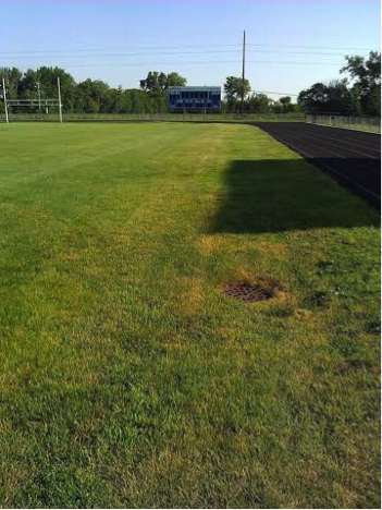 Old track ball field - Tartan High School