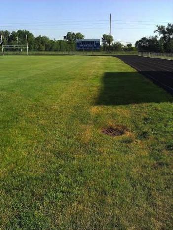 Old track ball field - Tartan High School