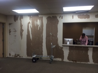 Remodel of Forest Lake office 2
