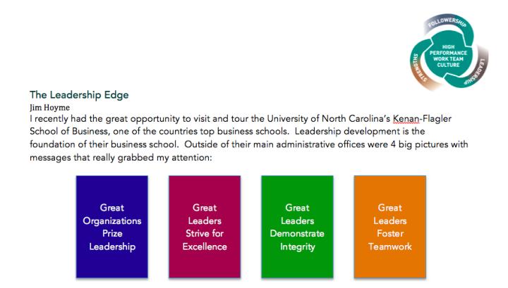 Leadership Edge #3 - pt 1