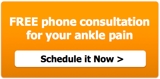 Ankle pain consultation