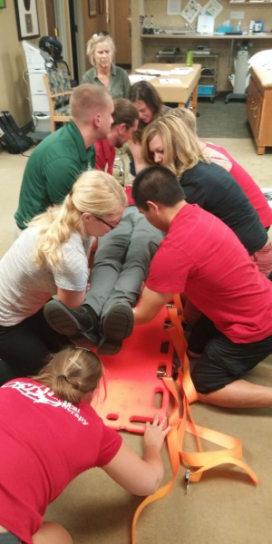 Training with Health Care Providers - OSI Physical Therapy  0715