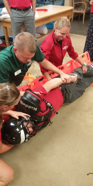 Training with Health Care Providers - OSI Physical Therapy  0717