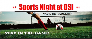 Sports Night at OSI