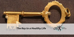 The Key to a Healthy Life