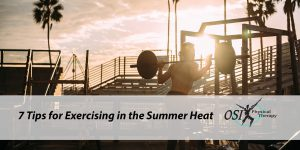 exercising-in-the-summer